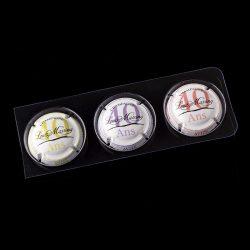 Collection trois capsules spéciales 40 ans